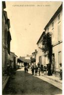 CASTELMAU-SUR-GUPIE  [sic]. - Rue de la Mairie