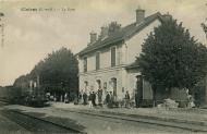 Clairac (L.-et-G.). La Gare
