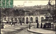 AGEN – La Gare / Cliché des Grandes Galeries Modernes, Agen.
