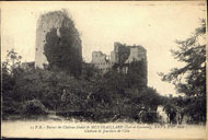 15 P.B. – Ruines du Château féodal de MONTGAILLARD (Lot-et-Garonne), XIIIe à XIVe siècle. Château de Jourdain de L'Isle / P.B.
